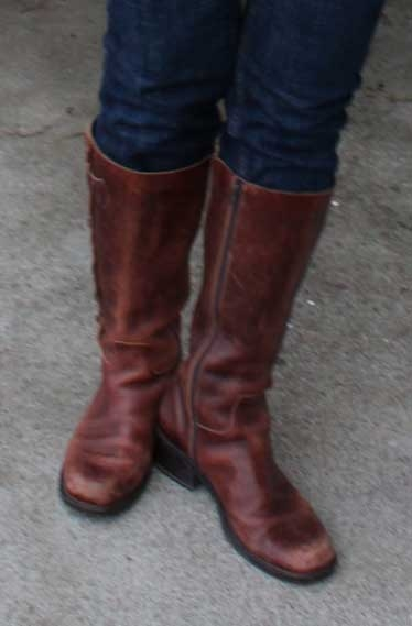 nicole boots from DSW